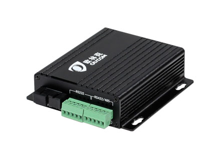 RS485/RS422 serial to fiber (OM2101-RS485/RS422)