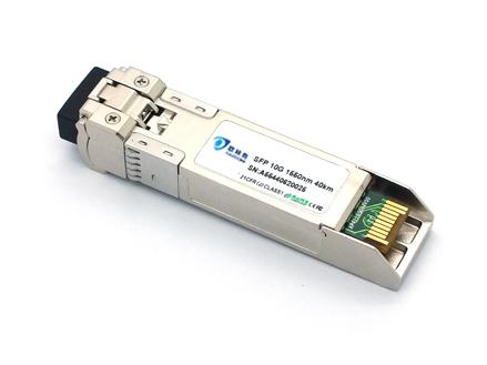 SFP, 10G, dual fiber, 40KM, LC, DDM (OSPLXG40D)