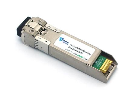 SFP, 10G, single fiber, 10KM, LC, DDM (OSBLXG10D-23/32)