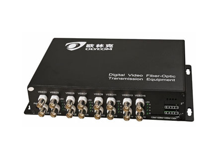 16ch video Tx video optical converter (OM610-16V↑WT/R)