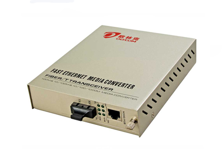 10/100M Duplex Fiber Media Converter Internal Power Supply (OM210-FE)