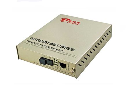 10/100/1000M Simplex Fiber Media Converter Internal Power Supply(OM510-GE)