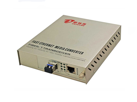 10/100/1000M SFP Fiber Media Converter Internal Power Supply(OM330-GE)