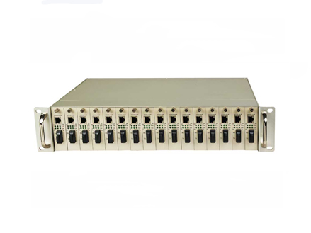 "Managed Standalone Media Converters and 19""2U Rack System"