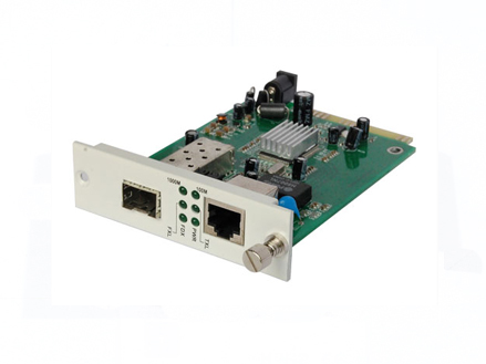 """Managed Standalone Media Converters and 19""""2U Rack System"""