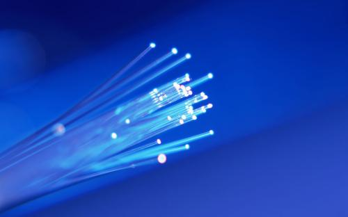 Fiber optics making telecommuting easier